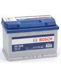BOSCH Akumulator 12V 74Ah 680A S4 desno+