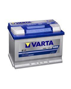VARTA Akumulator 12V 74Ah 680 BLUE DYNAMIC desno+