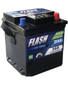 FLASH POWER Akumulator 12V 44Ah 360A FIAT desno+