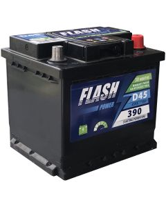 FLASH POWER Akumulator 12V 45Ah 400A desno+