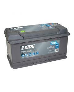 EXIDE Akumulator 12V 100Ah 900A PREMIUM desno+