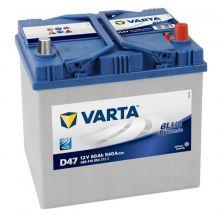 VARTA Akumulator 12V 60Ah 540A BLUE DYNAMIC desno+ azija