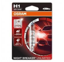 OSRAM SIJALICA FARA H1 NIGHT BREAKER