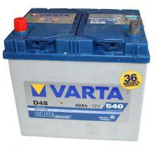 VARTA Akumulator 12V 60Ah 540A levo+ azija