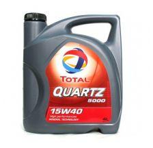 TOTAL QUARTZ 5000 Motorno ulje 15W40 4L