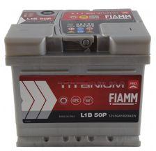 FIAMM Akumulator 12V 50Ah 520A TITANIUM PRO 40 desno+