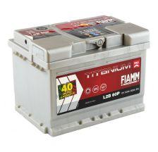 FIAMM Akumulator 12V 60Ah 600A TITANIUM PRO 40 desno+