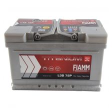 FIAMM Akumulator 12V 75Ah 730A TITANIUM PRO 40 desno+