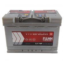 FIAMM Akumulator 12V 74Ah 680A TITANIUM PRO 36 desno+