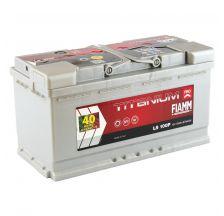 FIAMM Akumulator 12V 100Ah 870A TITANIUM PRO 40 desno+