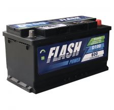 FLASH POWER Akumulator 12V 100Ah 800A desno+