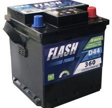 FLASH POWER Akumulator 12V 44Ah 360A FIAT desno+