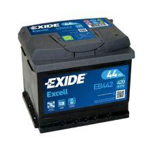 EXIDE Akumulator 12V 44Ah 420A EXCELL desno+