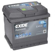 EXIDE Akumulator 12V 53Ah 540A PREMIUM desno+