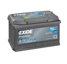 EXIDE Akumulator 12V 72Ah 720A PREMIUM desno+