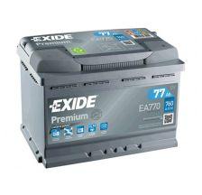 EXIDE Akumulator 12V 77Ah 760A PREMIUM desno+