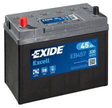 EXIDE Akumulator 12V 45Ah 330A EXCELL levo+ uske kleme azija