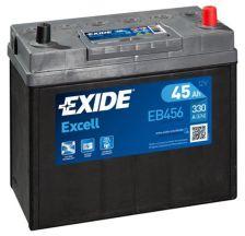 EXIDE Akumulator 12V 45Ah 330A EXCELL desno+ uske kleme azija