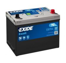 EXIDE Akumulator 12V 70Ah 540A EXCELL desno+ AZIJA
