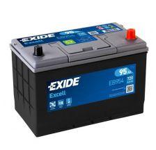 EXIDE Akumulator 12V 95Ah 720A EXCELL desno+ AZIJA