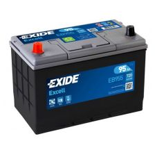 EXIDE Akumulator 12V 95Ah 720A EXCELL levo+ AZIJA