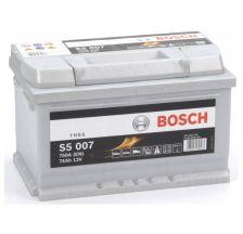 BOSCH Akumulator 12V 74Ah 750A S5 desno+
